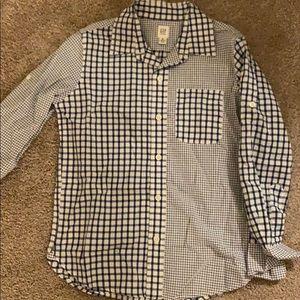 Gap kids dress shirt size 8
